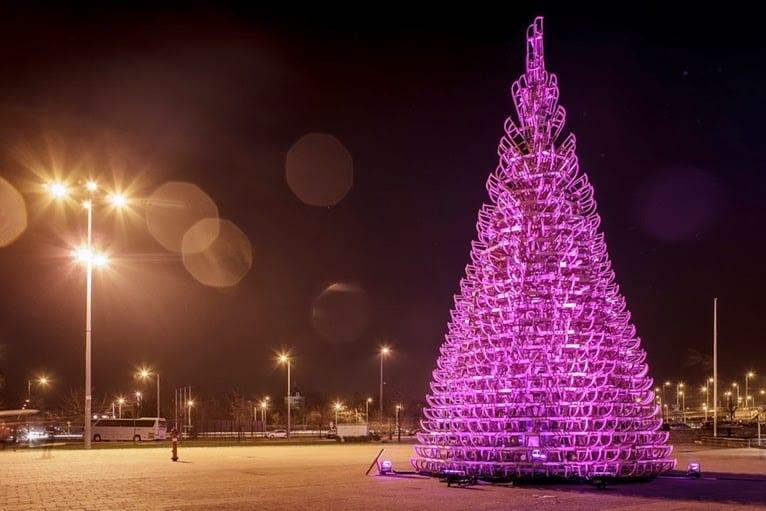 L'albero di Natale che sarà un piacere smontare