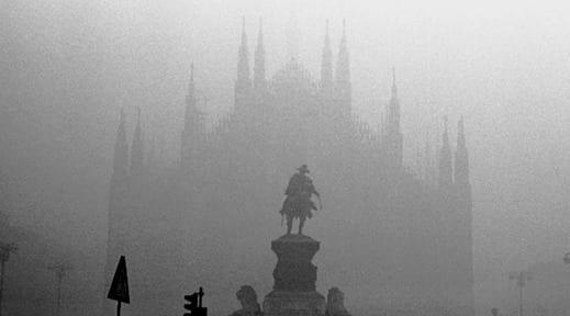 Il nero mortale, inquinamento della Val Padana