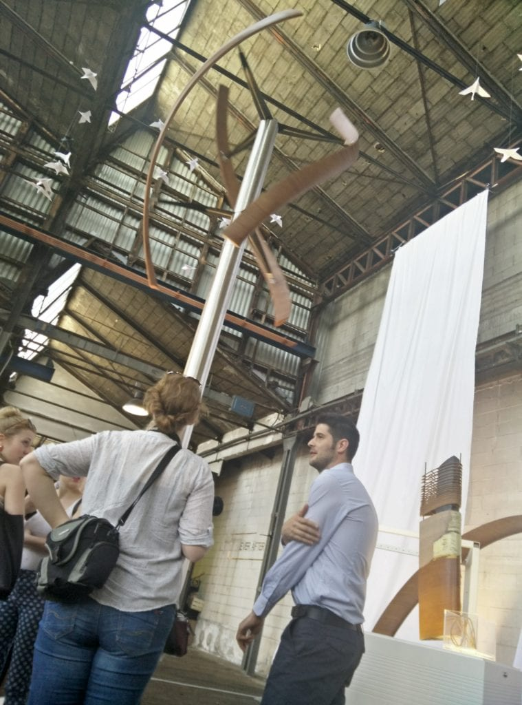 Pala eolica o scultura di energia rinnovabile?