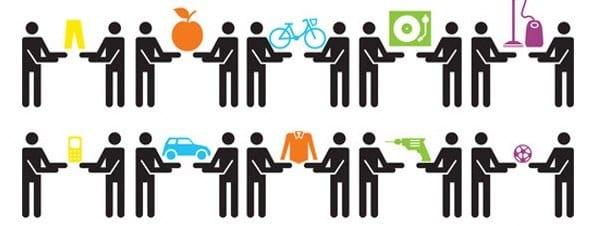 Sharing economy: condividi i vantaggi, risparmi tu e l'ambiente
