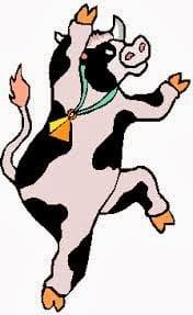 Anche le vacche (quelle dei campi) ballano