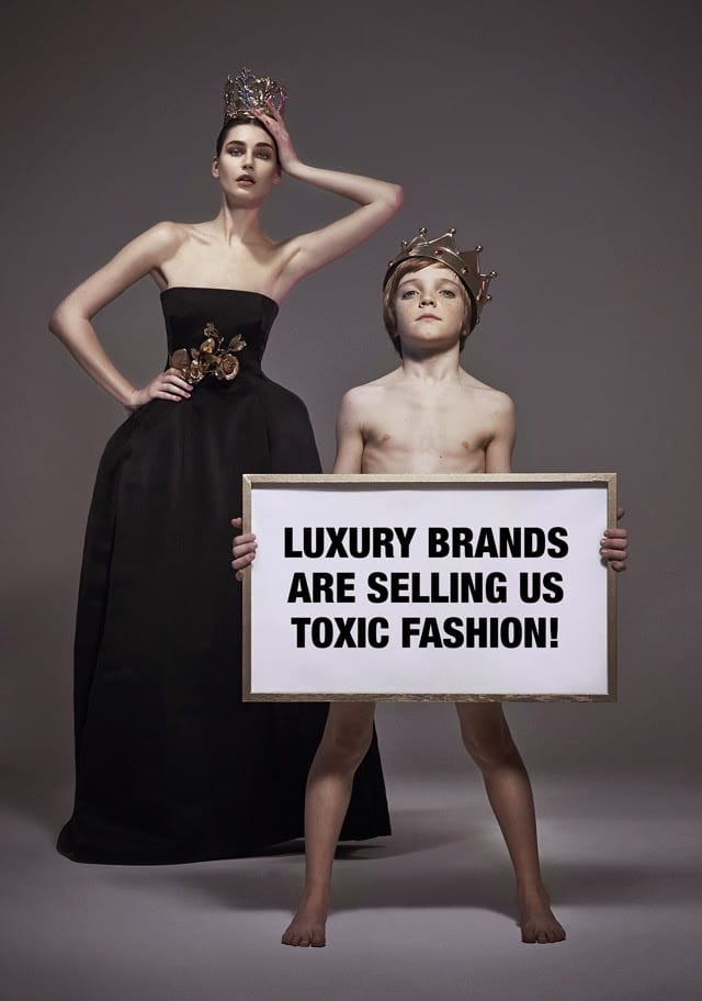Fashion week a Milano, Versace, Dolce Gabbana guardano Greenpeace volare alto