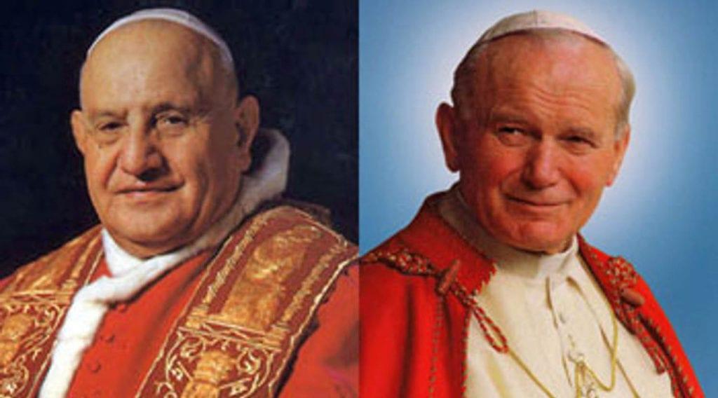 Giovanni XXIII e Giovanni Paolo II: i papi che cambiarono la storia