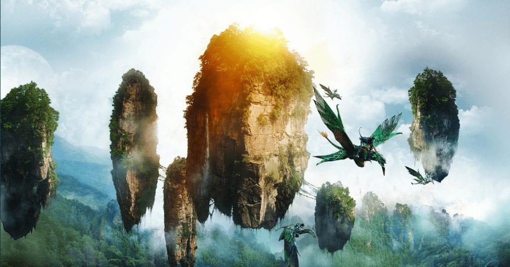 Le isole volanti di Avatar, con i kokedama il bosco in casa tua