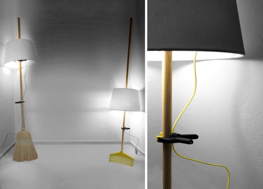 Manici che diventano lampade