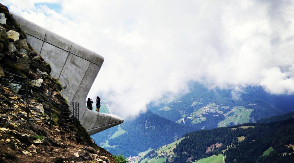 Reinhold Messner e Zaha Hadid, due visionari sulle Alpi