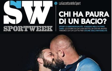 Se un bacio (gay) fa schifo