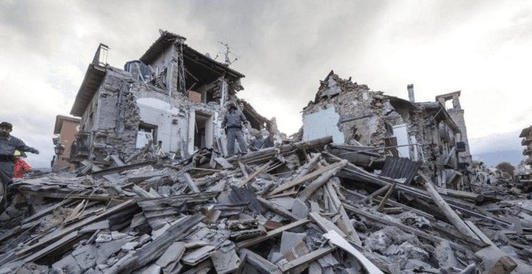 Terremoto: non è lui l'assassino